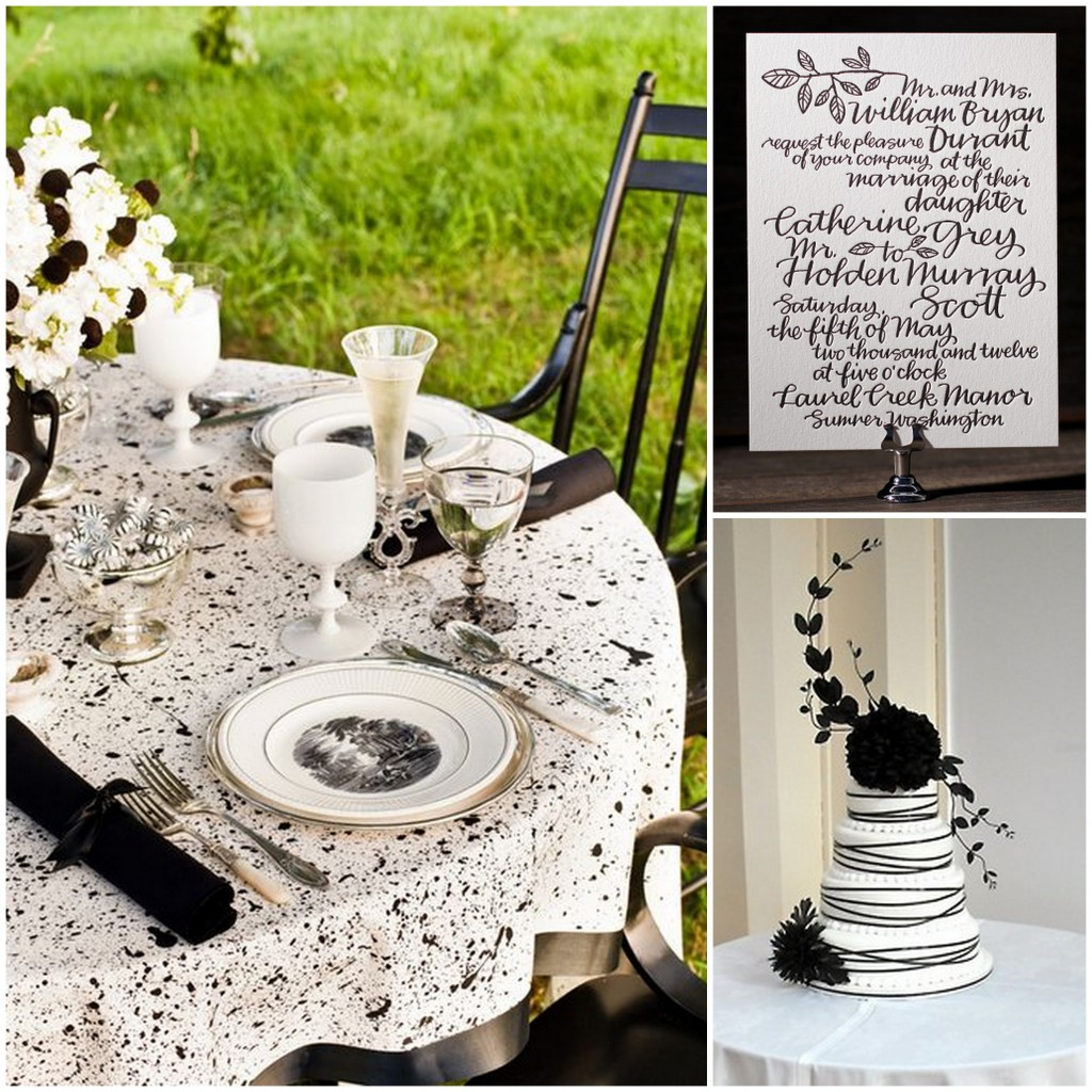 Black-White-Wedding-Invitation