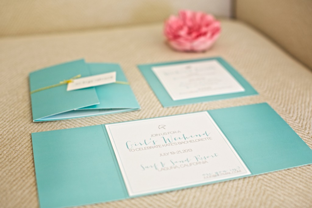 set the tone for your bachelorette party with custom designed invitations