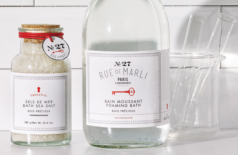 Rue de Marli No. 27 | Bath Sea Salt and Foaming Bath