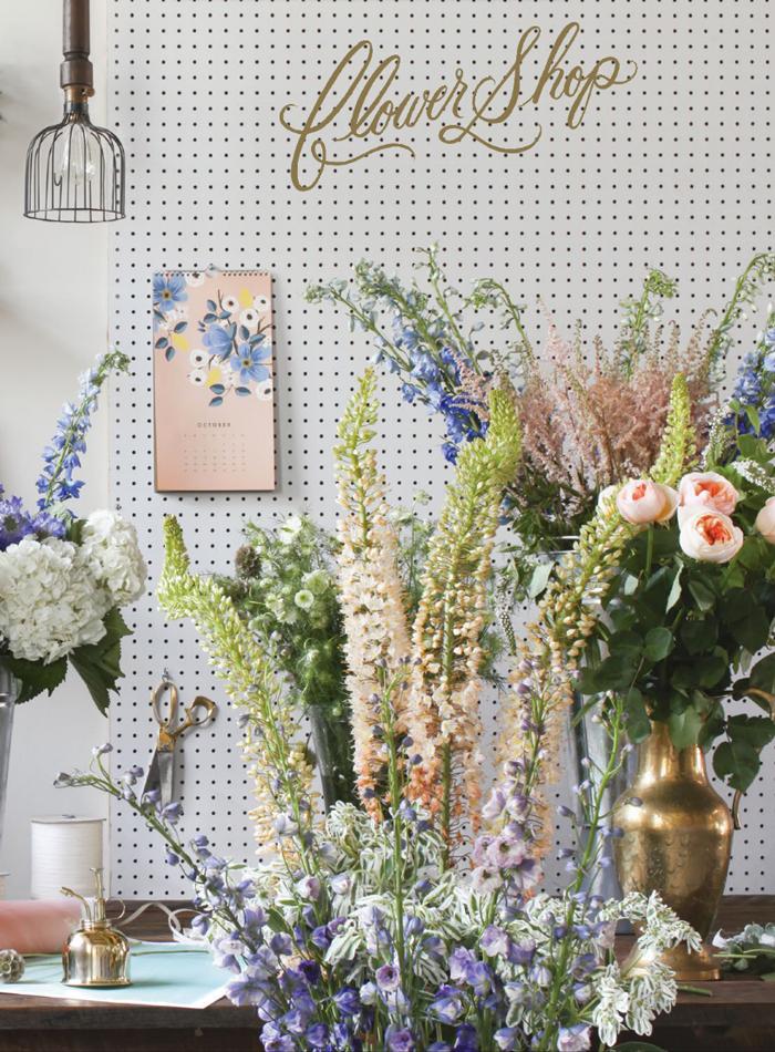 Rifle Paper Co. Les Fleur 2015 Wall Calendar