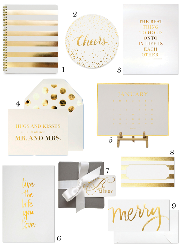 Currently Loving Sugar Paper Gold