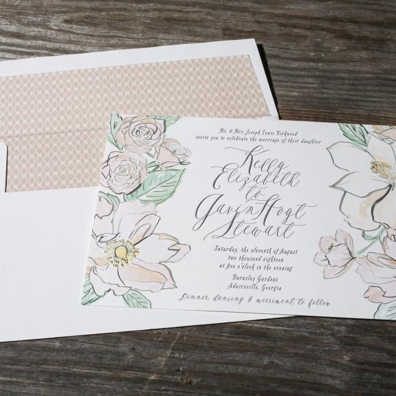 Modern_Floral_Wedding_Invitation_San_Diego