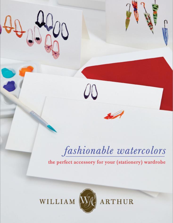 Fashionable Watercolors - William Arthur