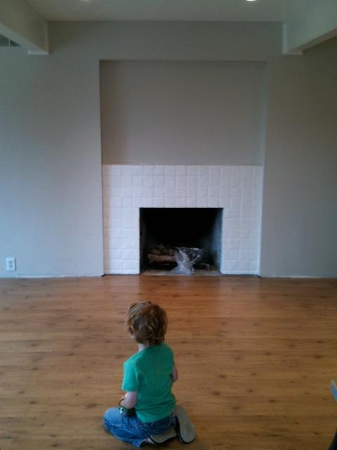 The floor is in!