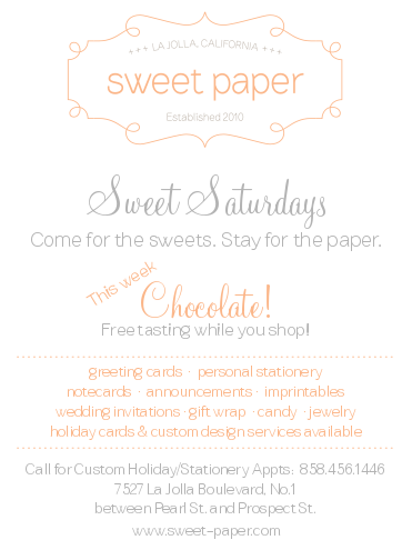 Today at Sweet Paper