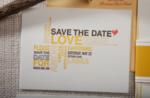 Sweet Save the Dates