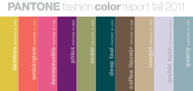 Inspiration File: Fall Color Trends