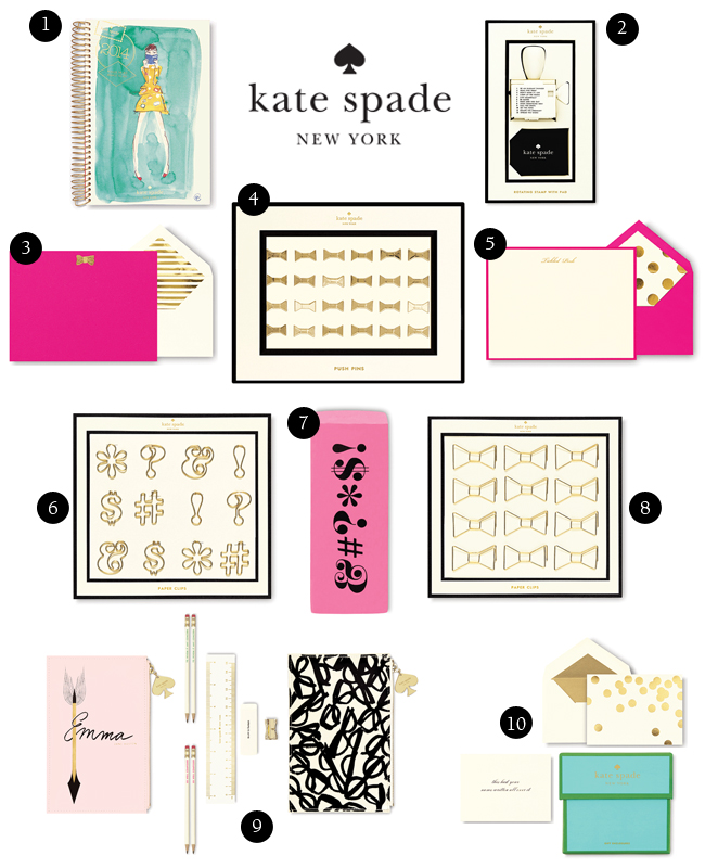 Kate Spade Stationery Amp Office