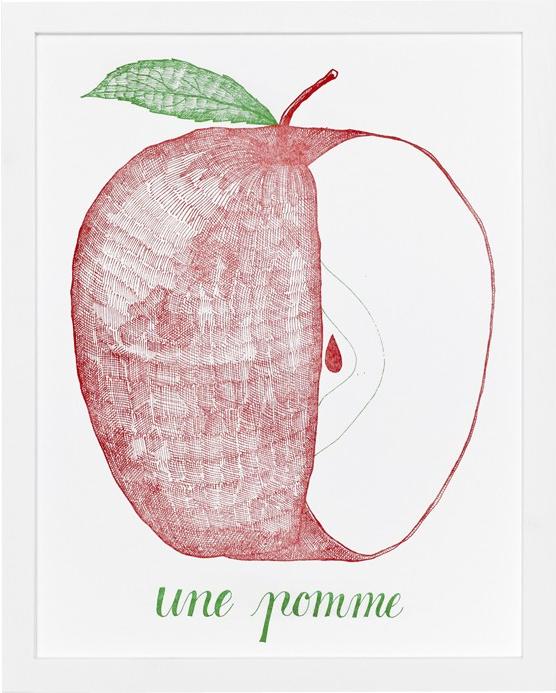 Une_Pomme_Letterpress_Art_Print