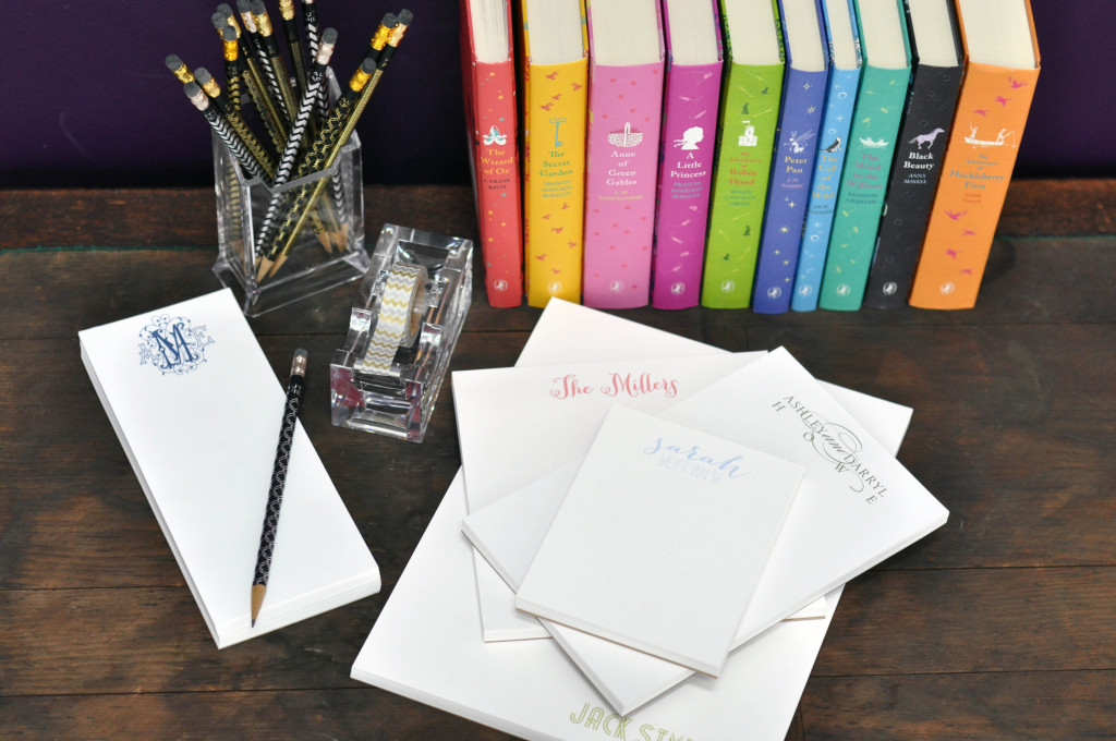 """for the note taker and list maker! custom notepads come in various sizes, my favorite is the 7"""" square"""
