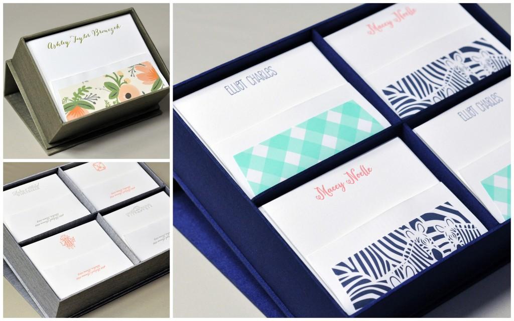 customize it, then put it in a beautiful silk box!
