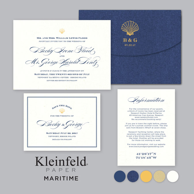 Wedding Invitations By Kleinfeld Paper Now Available In San Diego!