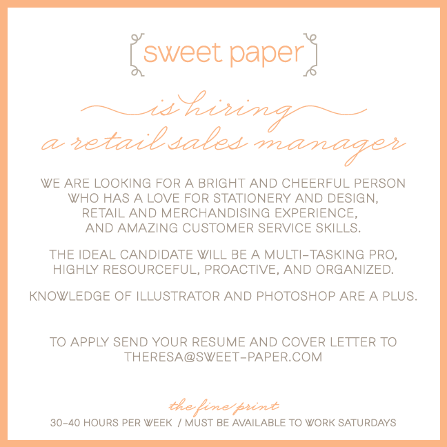 Sweet_Paper_Retail_Sales_Manager