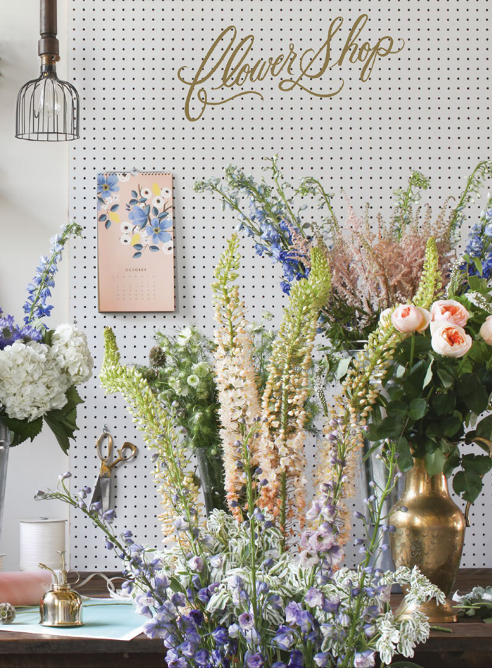 Rifle Paper Co. Les Fleur 2015 Wall Calendar