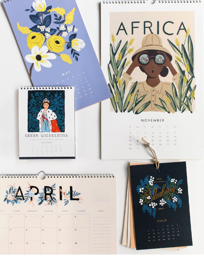 Rifle Paper Co. 2015 Calendar