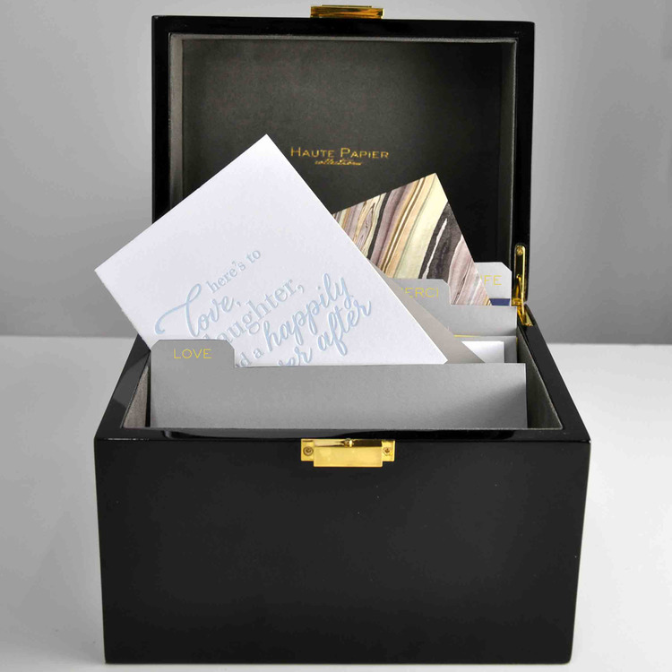 A Must Have The Write Box A Lacquer Stationery Organizer