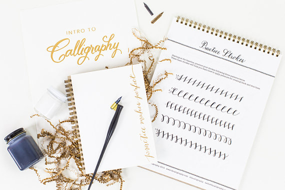 New at the Shop: Laura Hooper Calligraphy Starter Kits