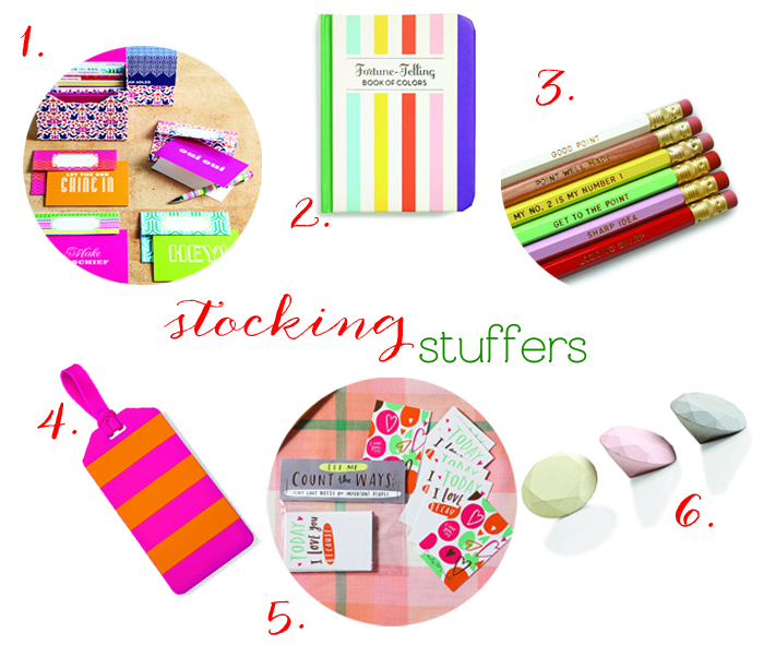 Fabulous Stocking Stuffers at Sweet Paper!