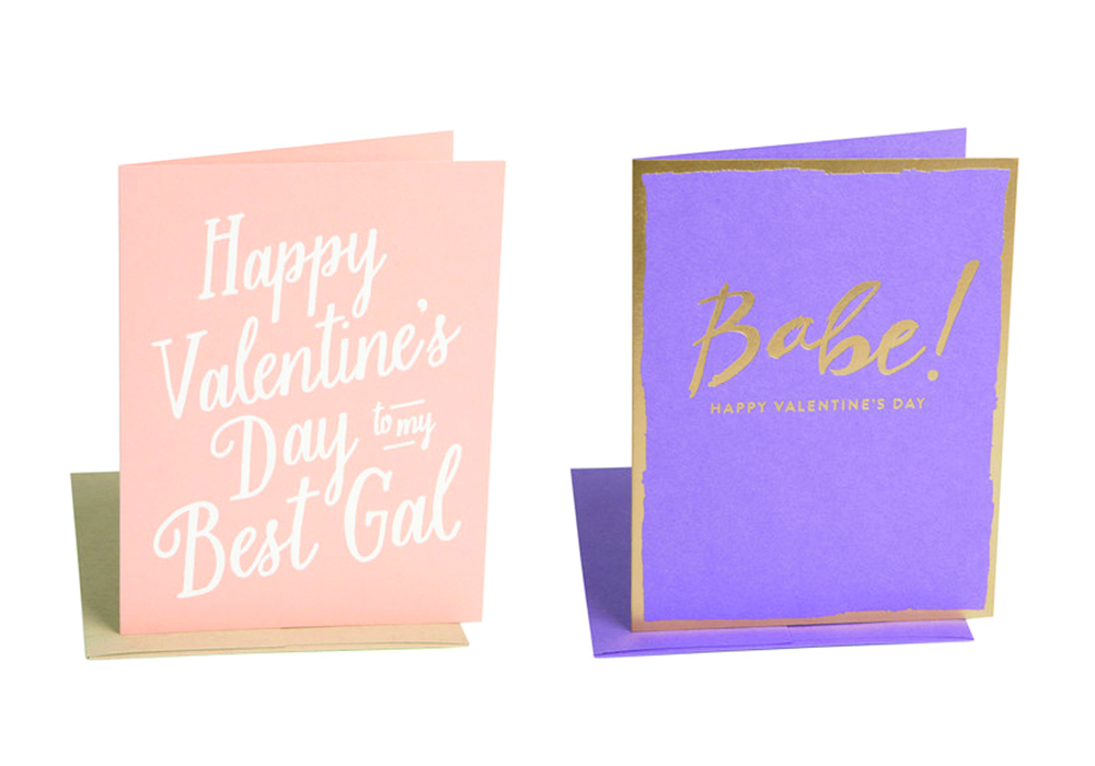 Happy Valentineu0027s Day To My Best Gal Card And Babe! Happy Valentineu0027s Day  Card By