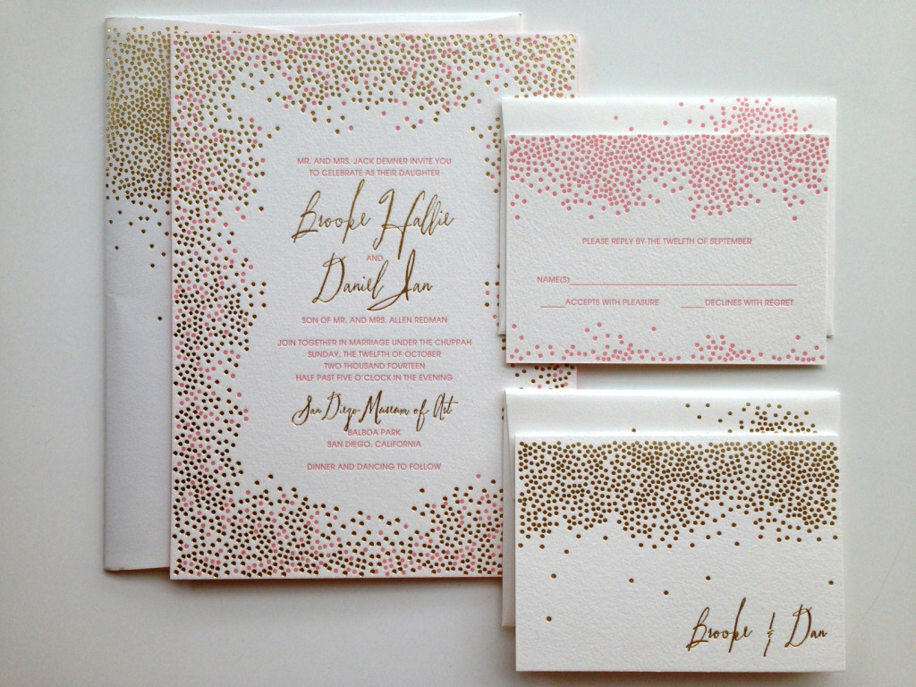 Bella Figura Wedding Invitation