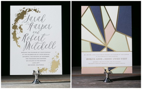 The Bella Figura 2015 Wedding Invitation Collection