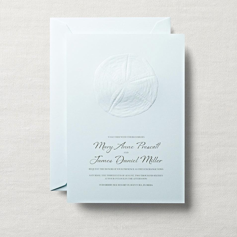 Beach Wedding Invitations San Diego