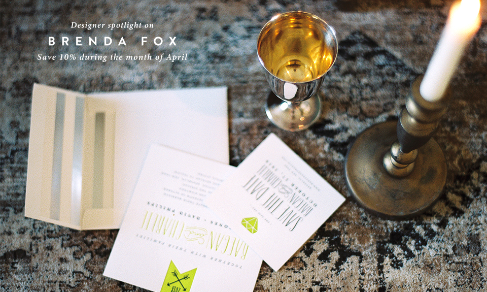 Save on Wedding Invitations in April!