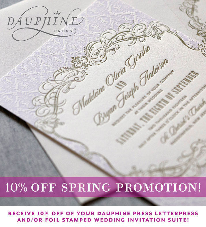 Charming 10% Off Wedding Invitations. May 11, 2015 | San Diego Wedding Invitation ...