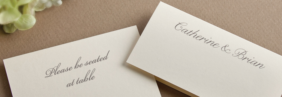 Weddings | Day-of Stationery