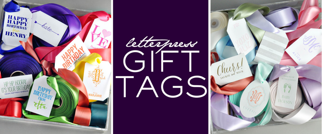 New at Sweet Paper: Custom Gift Tags!