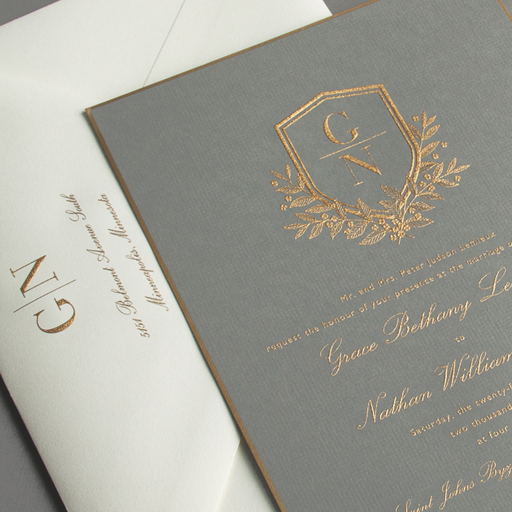 Vera Wang Wedding Invitations | Sweet Paper