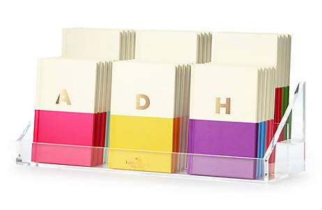 Currently Loving: Kate Spade Initial Notebooks
