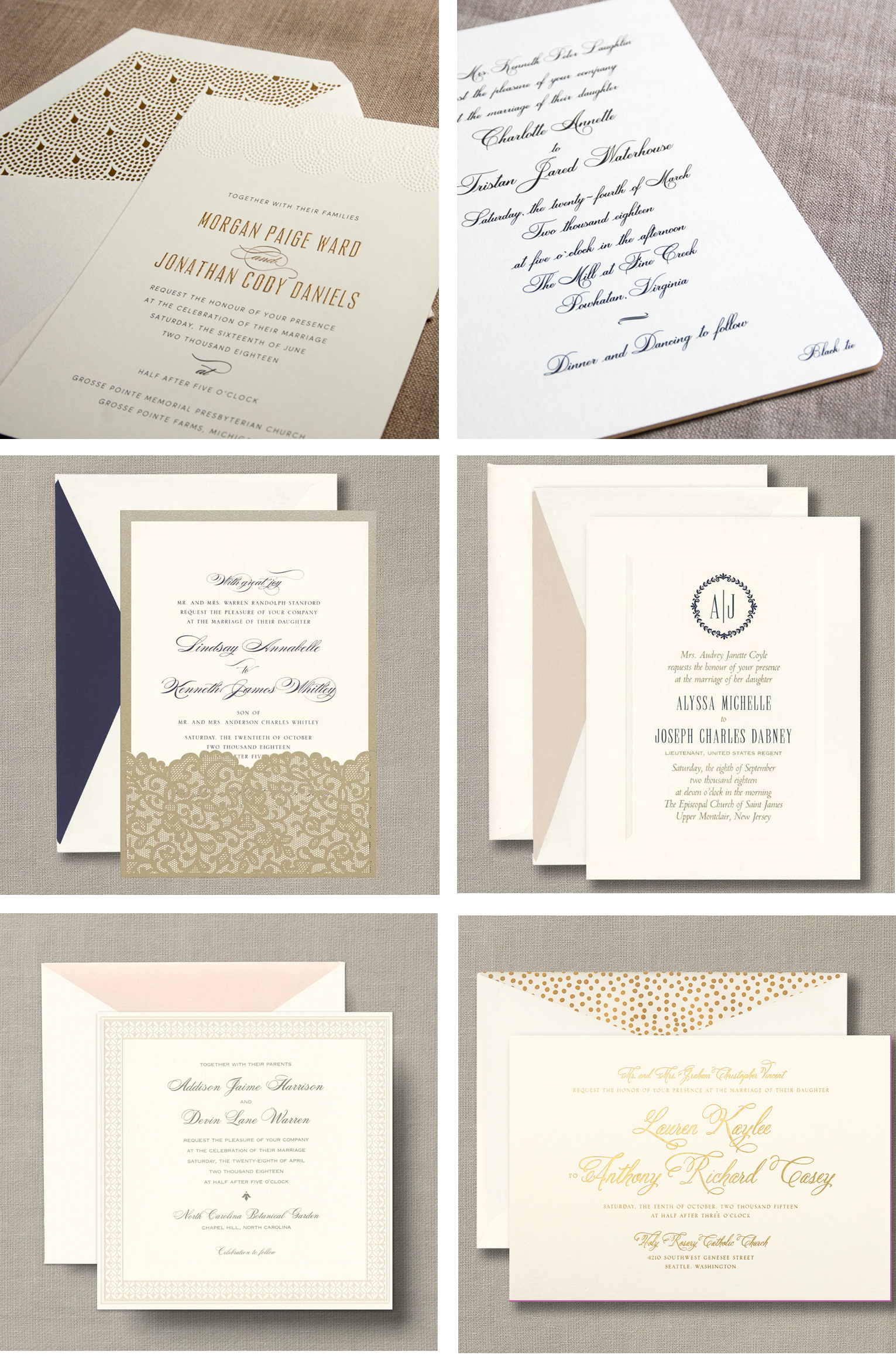 25 Free William Arthur Wedding Invitations Sweet Paper