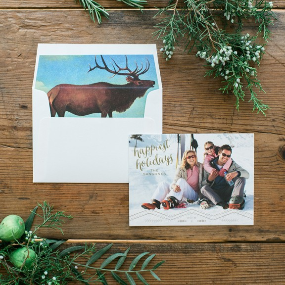 Holiday Card Promotion