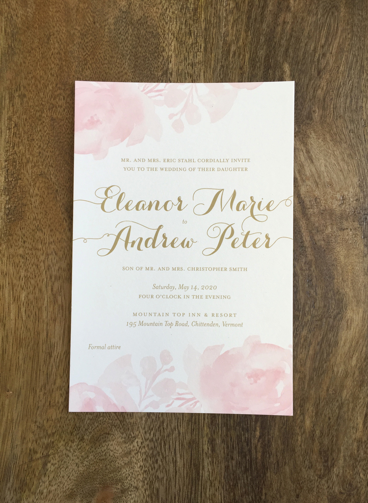 New Wedding Invitation Designs | Sweet Paper