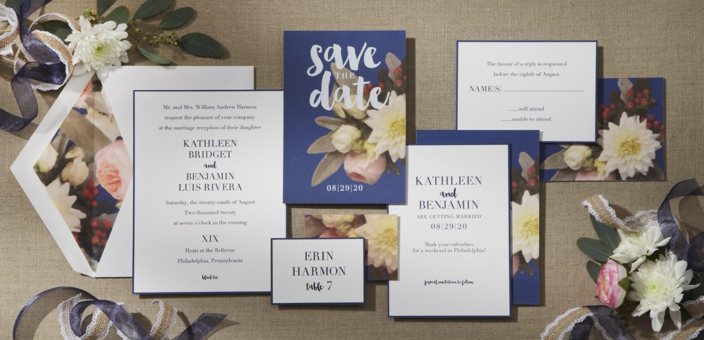 New Wedding Invitation Collection by William Arthur