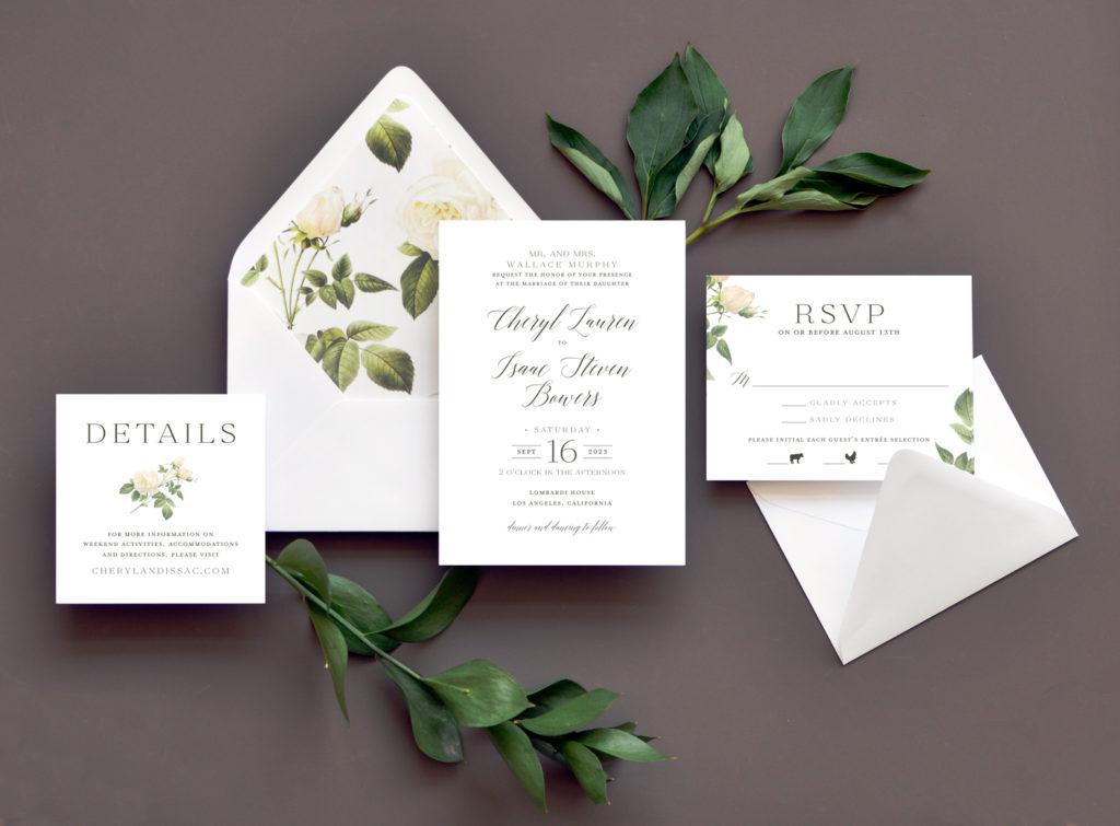 Wedding Invitations, Custom Letterpress and other Fine ...