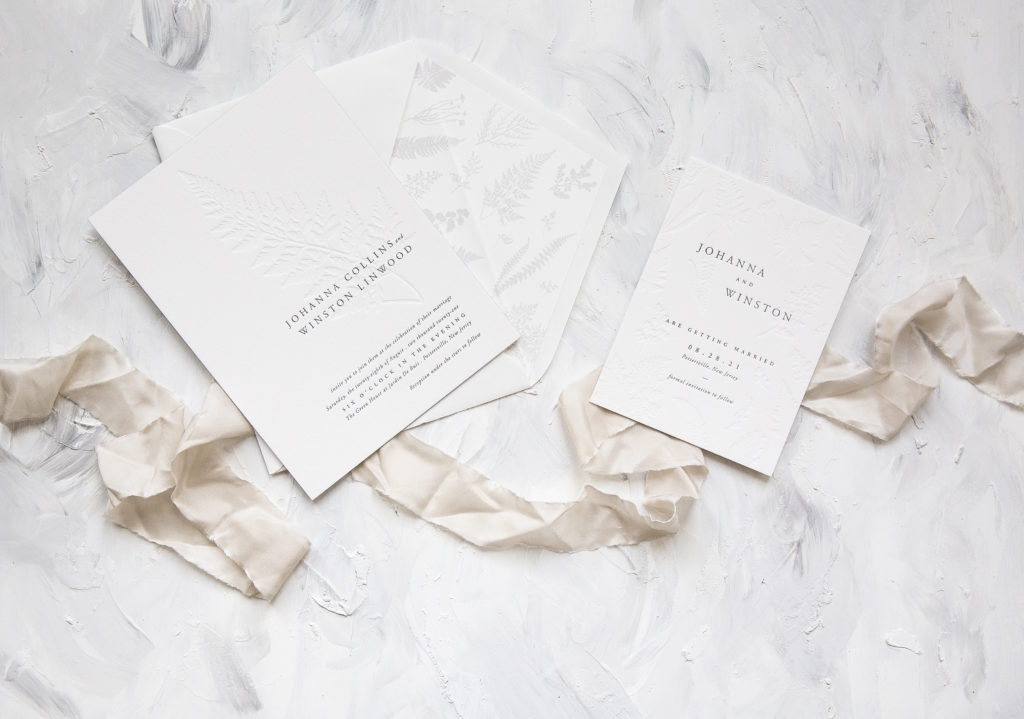 With Fresh Color Combinations Embossed Details Hand Calligraphy New Patternore The 2018 Wedding Invitation Collection From Bella Figura Does Not