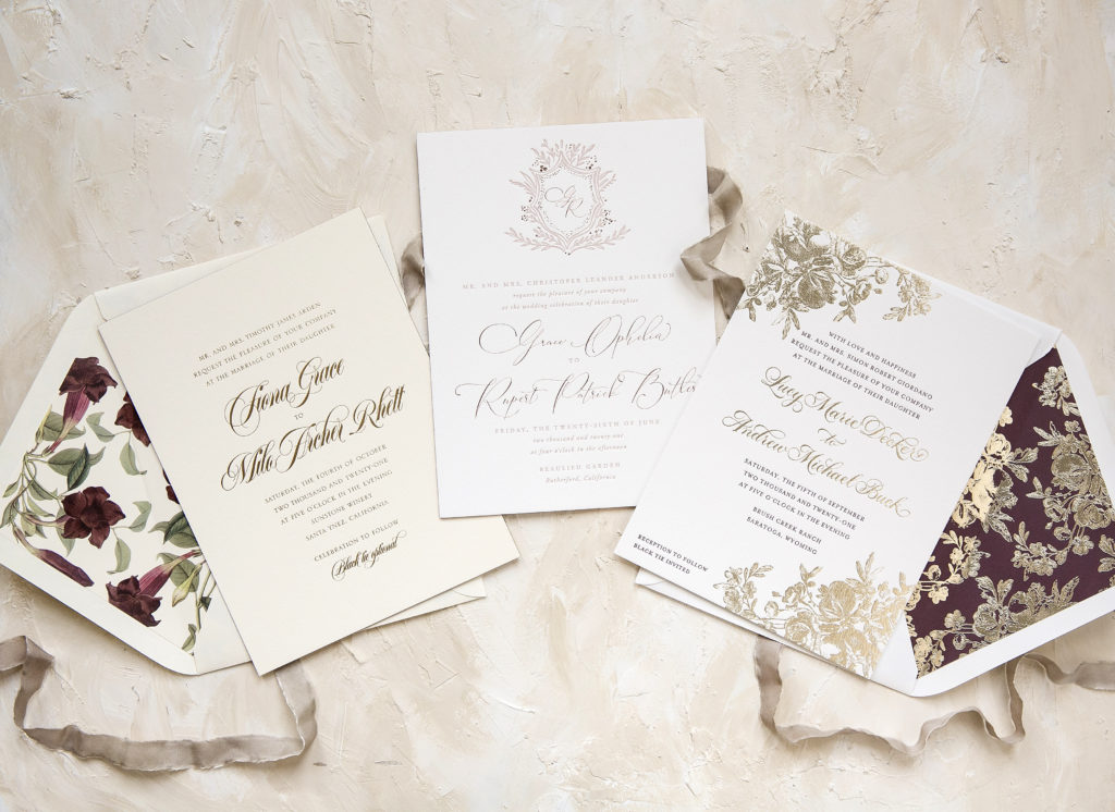 New Year, New Wedding Invitation Designs | Sweet Paper