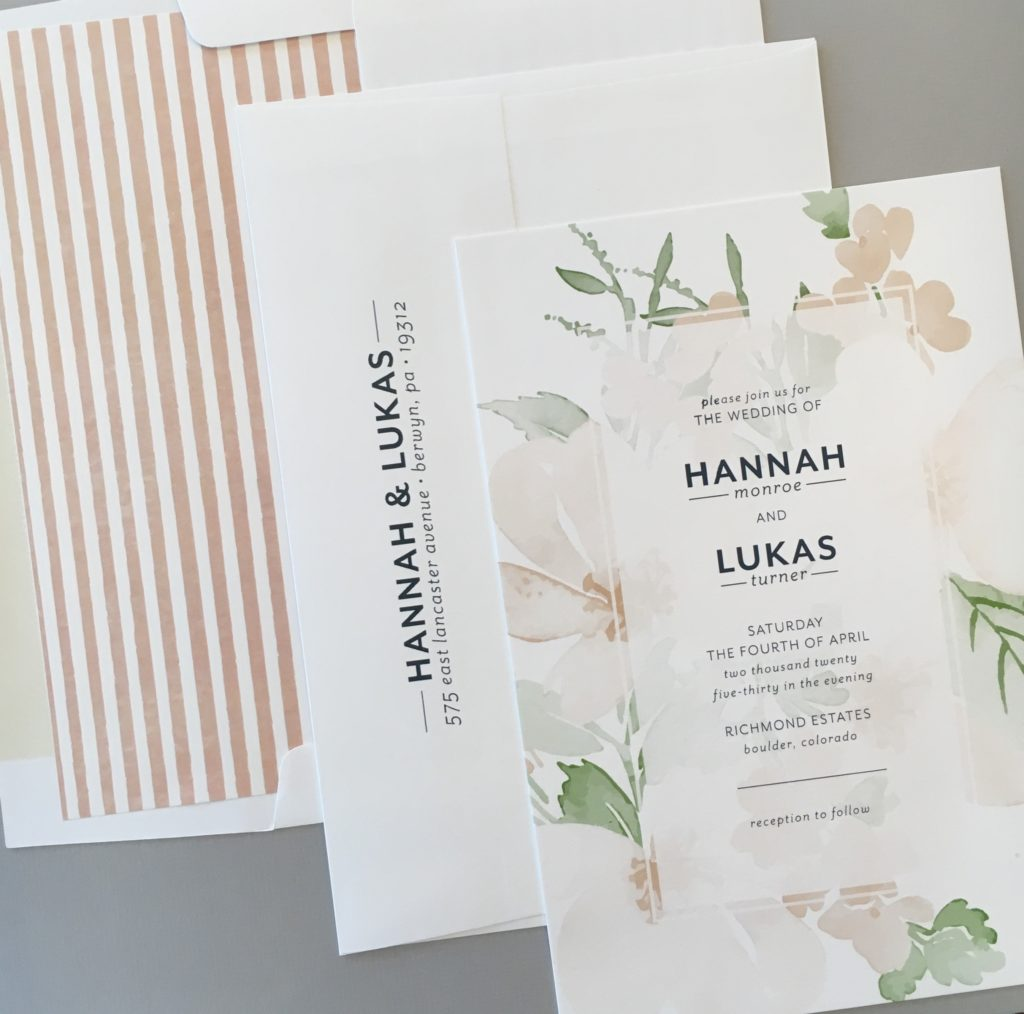 Wedding Invitations San Diego | Sweet Paper