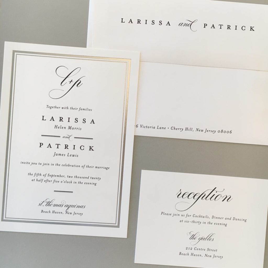 Wedding Invitations Custom Letterpress and other Fine Stationery in
